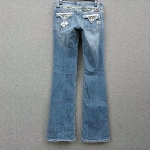 Miss Me BootCut Low Rise Jeans 29 L35 Stretch
